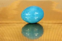 Мраморные яичка Стоковая Фотография