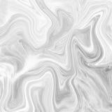 Мраморный абстрактный естественный мраморный черно-белый серый цвет для дизайна Стоковое Изображение RF