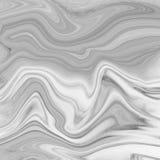 Мраморный абстрактный естественный мраморный черно-белый серый цвет для дизайна Стоковые Изображения RF