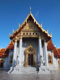 Мраморный висок Бангкок Таиланд стоковая фотография