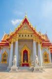 Мраморный висок, Wat Benchamabophit Dusitvanaram Бангкок Стоковая Фотография RF