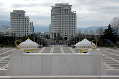 Мраморный город в Азии Стоковая Фотография