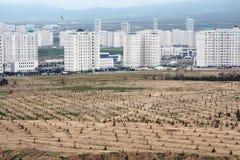Мраморный городок в Азии Стоковые Изображения RF