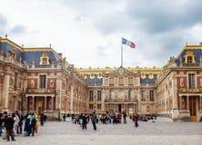 Мраморный двор на дворце Версаль Стоковые Фотографии RF