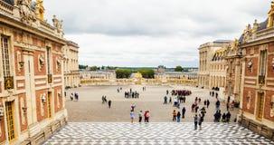 Мраморный двор на дворце Версаль Стоковое Изображение RF