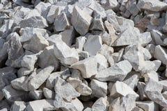 Мраморный карьер, каменная текстура, каменный разрабатывать Стоковые Изображения