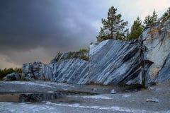 Мраморный карьер Стоковое Фото