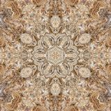 Мраморный конспект калейдоскопа гранита текстуры симметрия иллюстрация вектора