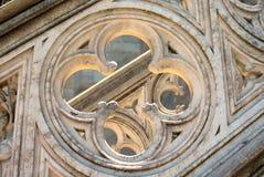 Мраморный крест стоковая фотография rf