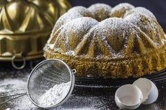 Мраморный торт Стоковое Изображение