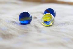 Мраморный шарик Стоковая Фотография RF