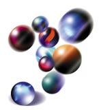 мраморы Стоковое фото RF