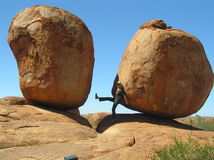 Мраморы Devil´s Стоковое Фото