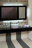 мрамор ванной комнаты Стоковое Изображение
