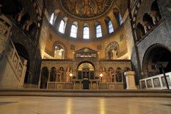 мрамор интерьера пола церков стоковая фотография rf