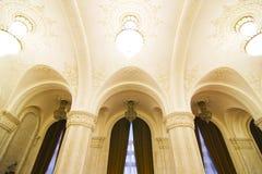 мрамор интерьера потолка Стоковое Изображение