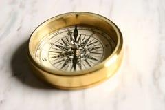 мрамор компаса Стоковые Фотографии RF