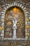 мрамор орла бюста римский Стоковые Фото
