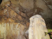 Мрамор пещеры Крыма Стоковая Фотография