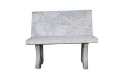 мрамор стула Стоковое Фото
