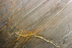 мрамор с красными венами Стоковая Фотография