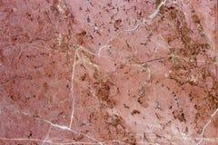 мрамор с красными венами Стоковые Изображения