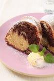 мрамор торта Стоковое Фото