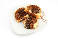 мрамор торта Стоковое Изображение