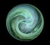 Мрамор фрактали, красивая деталь Стоковые Изображения