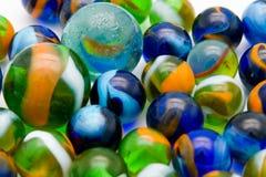 мрамор шариков цветастый Стоковые Фотографии RF