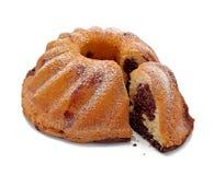 мрамор шоколада торта стоковые изображения