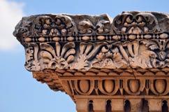 мрамор capitel Стоковое Изображение RF