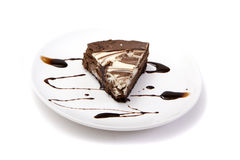 мрамор cheesecake Стоковые Изображения RF