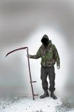 Мрачный жнец войны и терроризма Стоковое Изображение RF