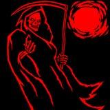 Мрачный жнец также вектор иллюстрации притяжки corel Стоковая Фотография RF
