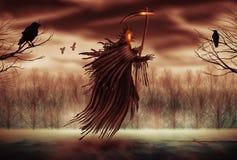 мрачный жнец иллюстрация штока