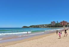 Мужественный пляж Стоковые Изображения