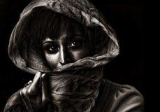 мужицкая женщина Стоковые Фотографии RF