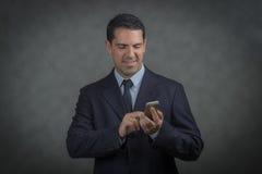 Мужская латынь звоня телефонный звонок Стоковое Изображение RF