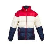 Мужская изолированная куртка зимы Стоковые Изображения