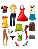 мужская одежда womenswear Стоковое фото RF