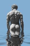 Мужская скульптура Стоковые Изображения RF