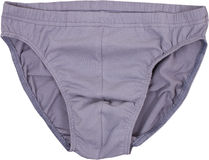 Мужские изолированные брюки стоковая фотография rf