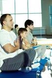 Мужские yogis Стоковая Фотография RF