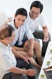 3 мужского поколения стоковая фотография