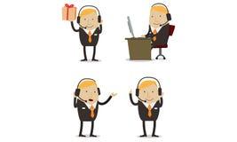 Мужское обслуживание клиента Стоковое Изображение