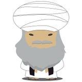 Мужской араб Стоковое фото RF