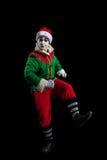 Мужской изолированный костюм Нового Года mimein Стоковые Фото