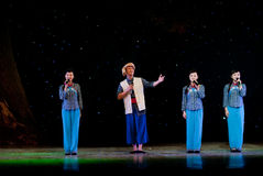 Мужской и женский хор голоса Стоковые Фотографии RF
