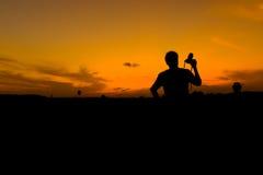 Мужской луч Стоковая Фотография RF